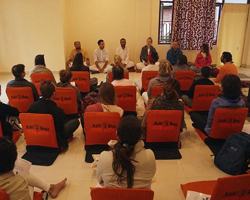 Yoga class in Dharamshala