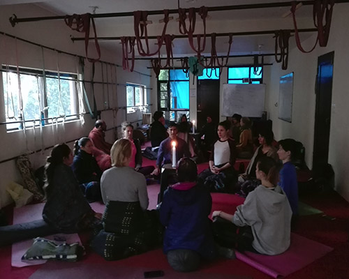 Meditation in Dharamshala