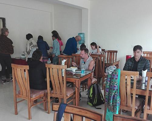 Dining room Dharamshala