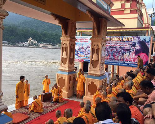RIshikesh Buddhist ceremony