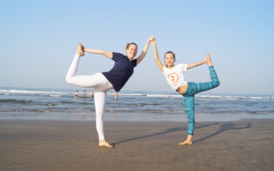 Partner Yoga- The benefits & a few poses to try out!