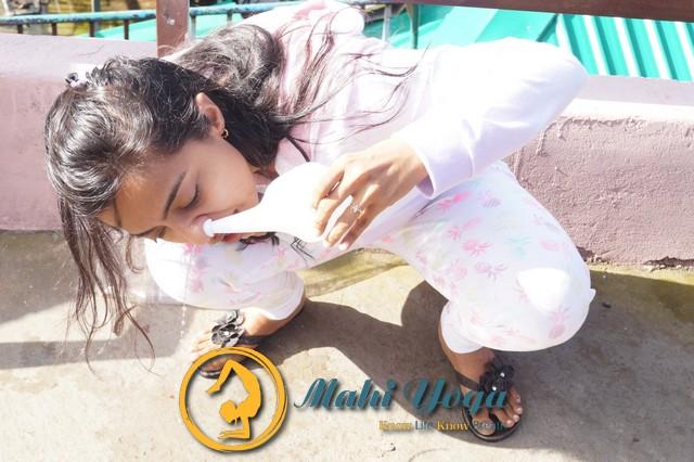 Jala Neti Yogic Cleansing